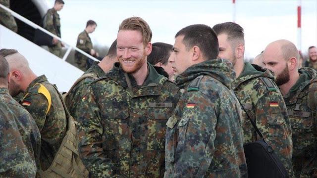 4 soldados de la OTAN heridos en pelea de borrachos en Lituania