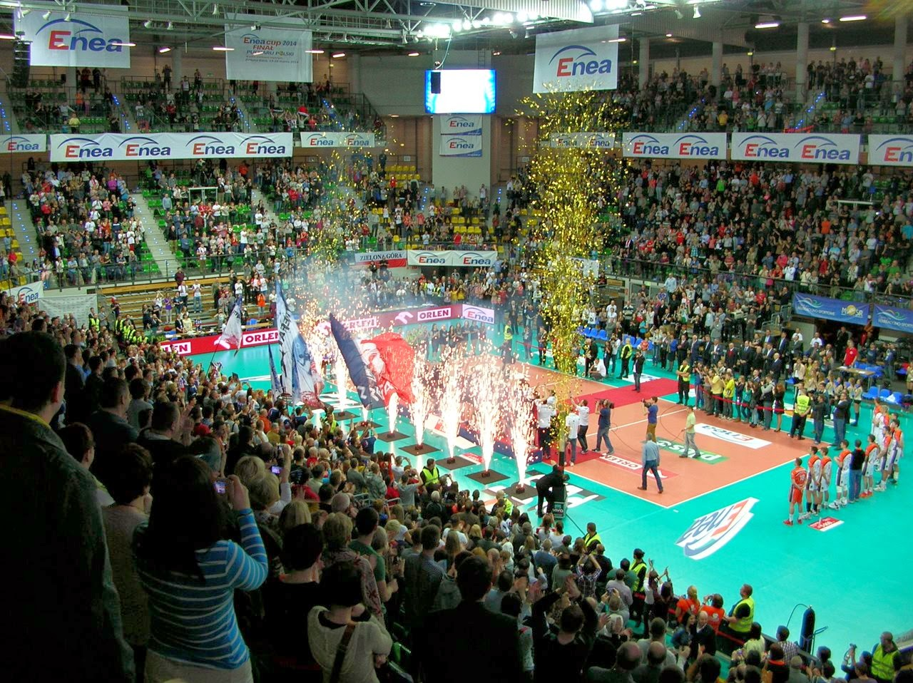 zwycięstwo, zaksa zdobyła Puchar Polski, Zielona Góra