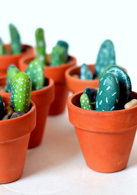 sharpie paint marker, succulents, cacti, desert, tex mex