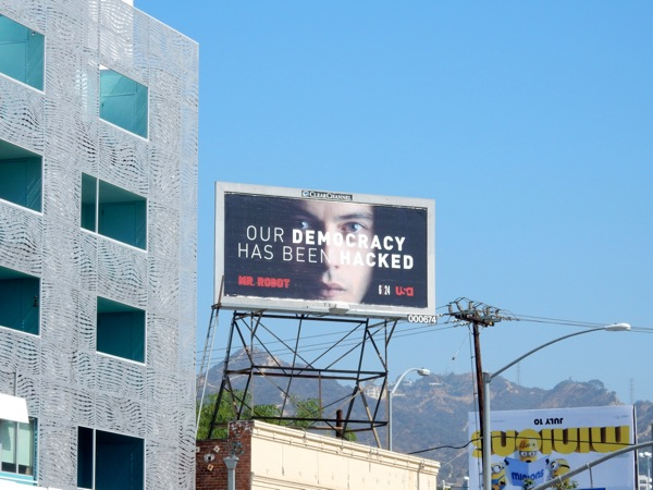 Mr Robot series billboard