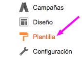 plantilla HTML recuperar