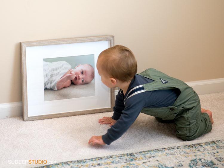 1st First Birthday Baby Portrait - SudeepStudio,com Ann Arbor Portrait Photographer