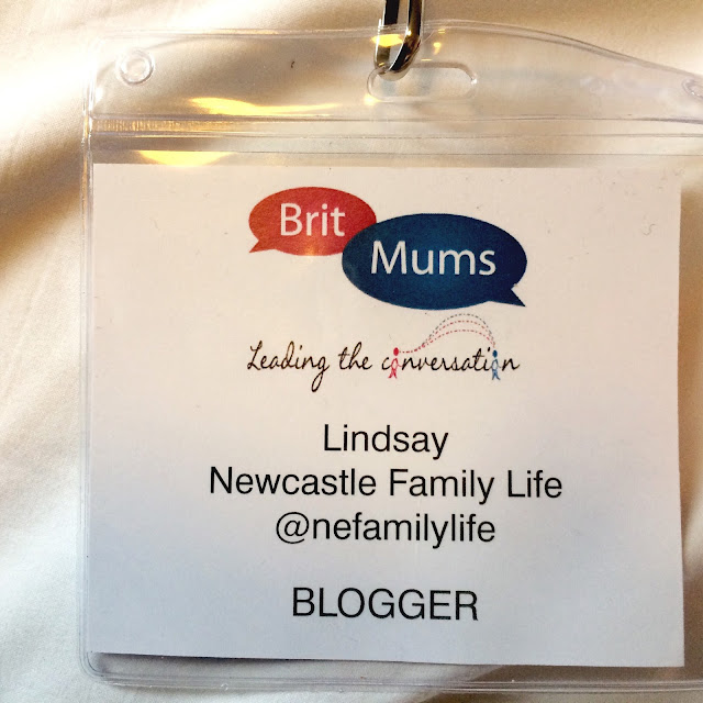 Britmums name tag