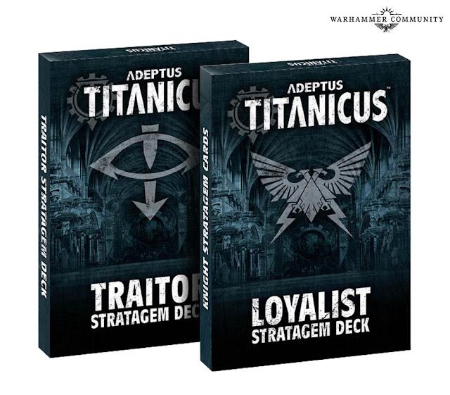 Estratagemas Adeptus Titanicus