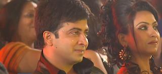 Farzana Chobi and Shakib Khan