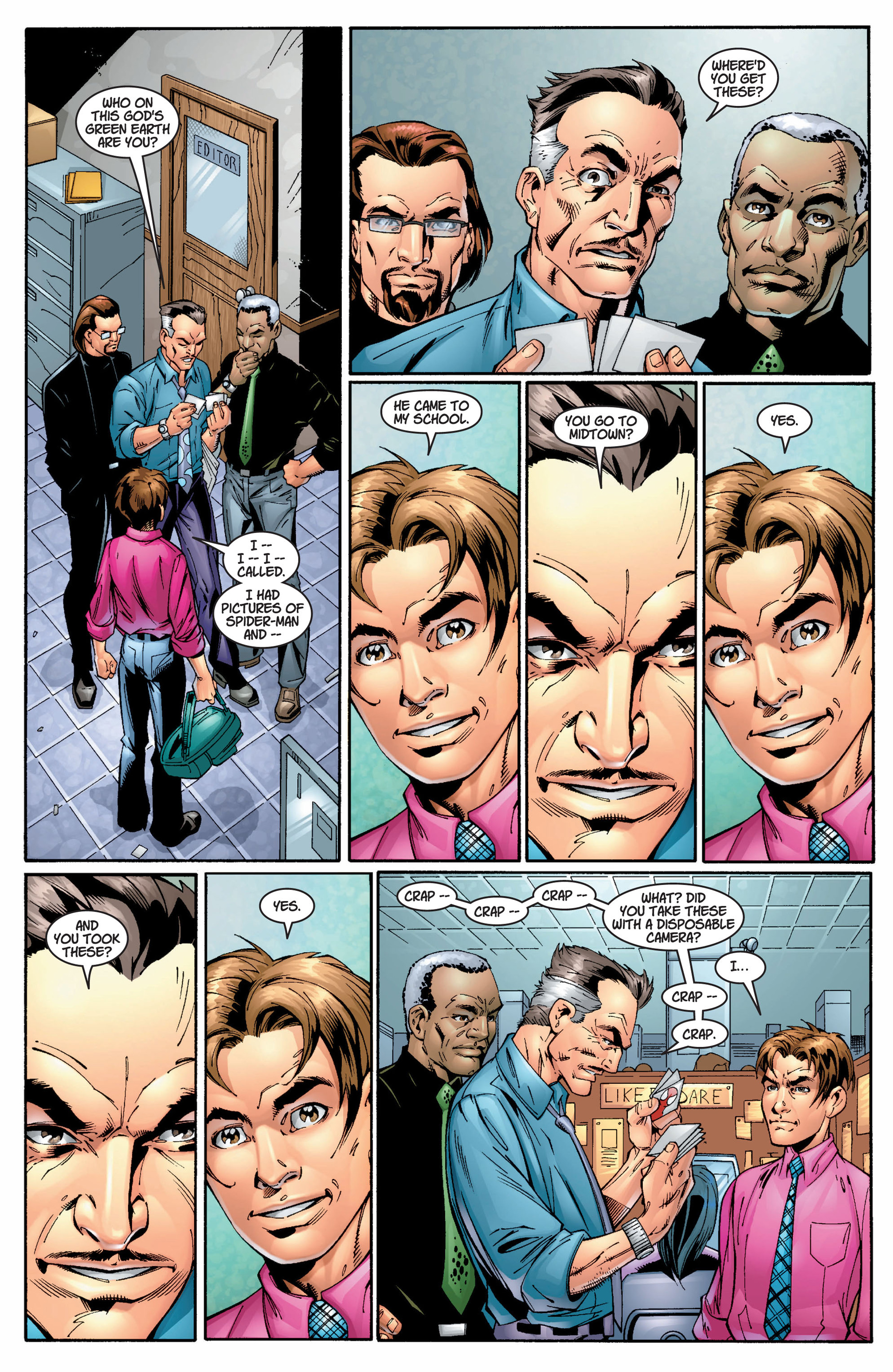 Read online Ultimate Spider-Man (2000) comic -  Issue #8 - 11