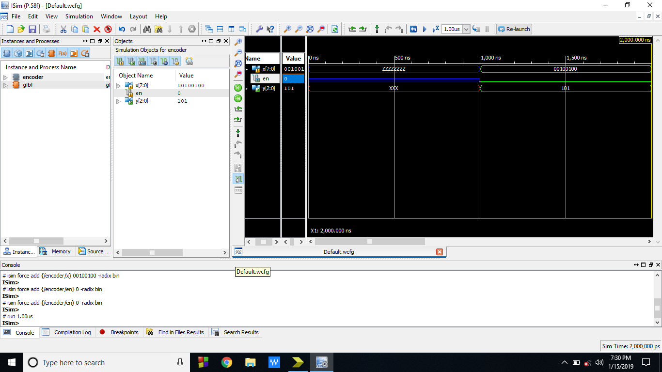 8 to 3 Priority encoder using Xilinx Software | Priority