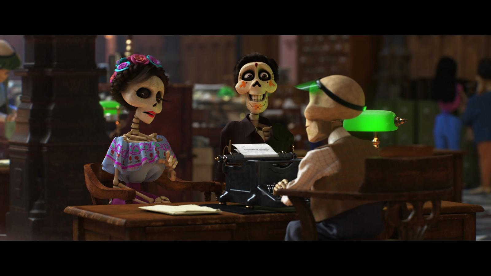 Coco (2017) BRRip Full HD 1080p Latino-Ingles captura 2