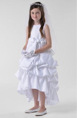 Vestidos de comunion primera para fiesta de dia