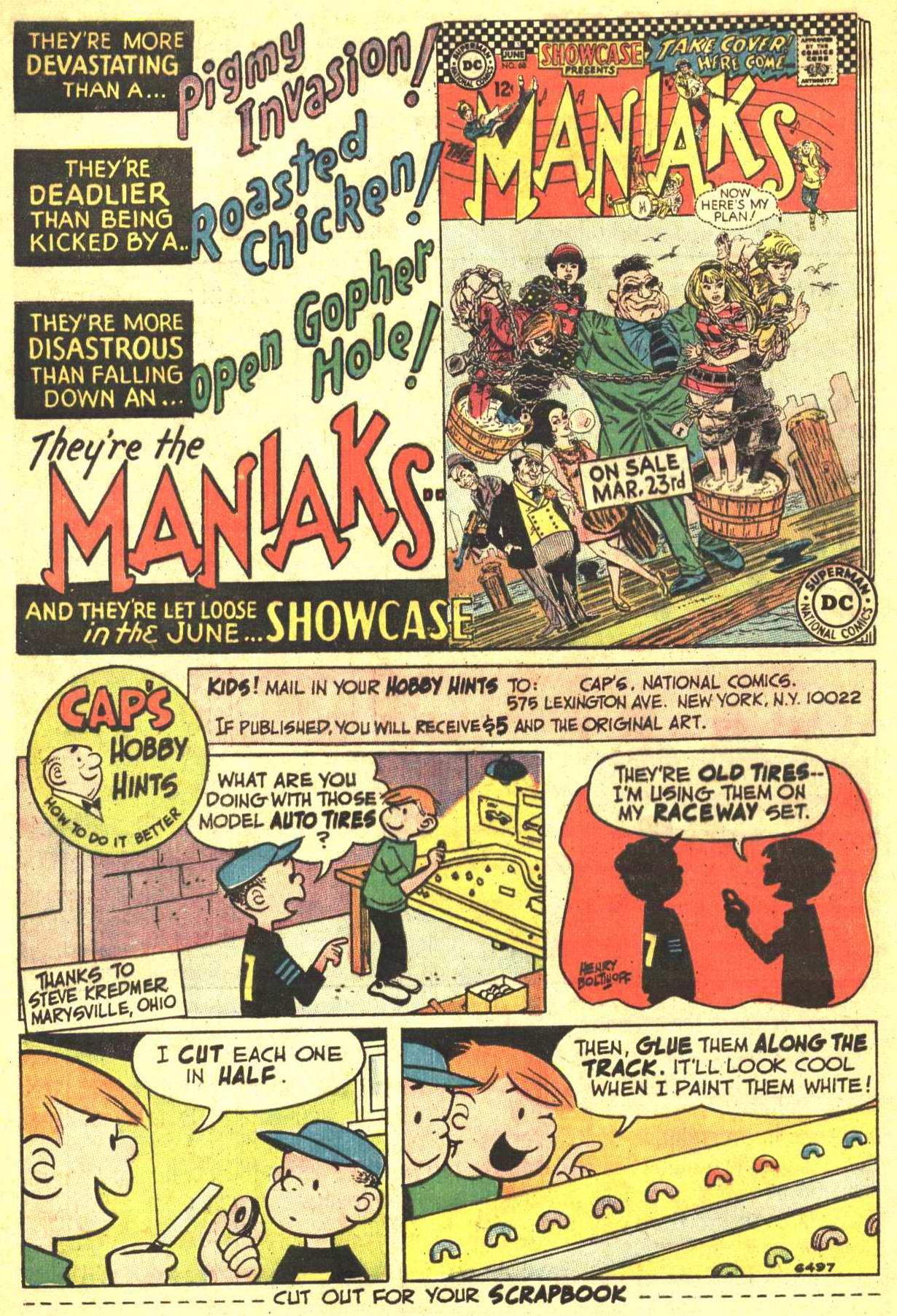 Read online World's Finest Comics comic -  Issue #166 - 8