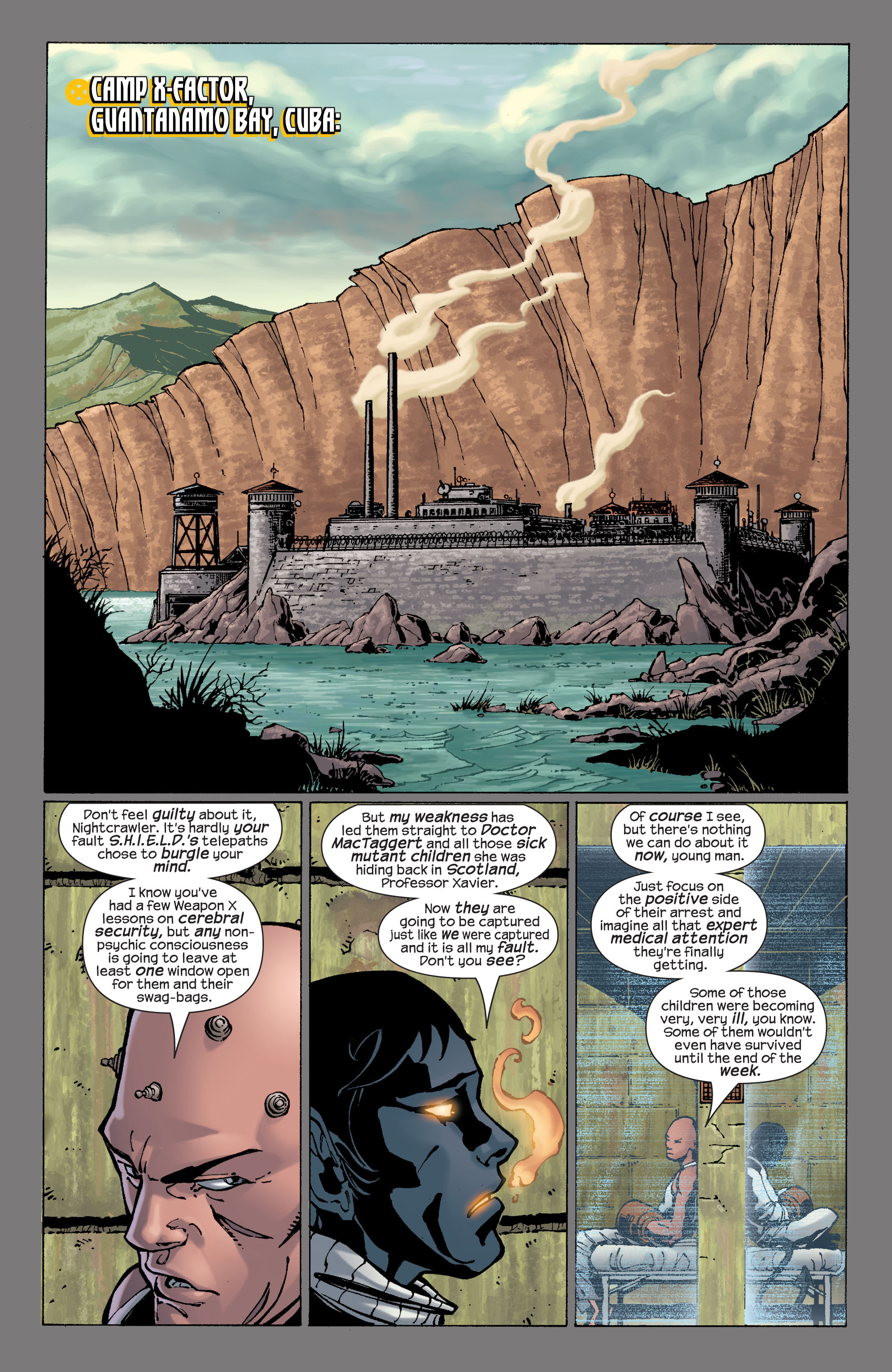 Read online Ultimate X-Men comic -  Issue #29 - 19