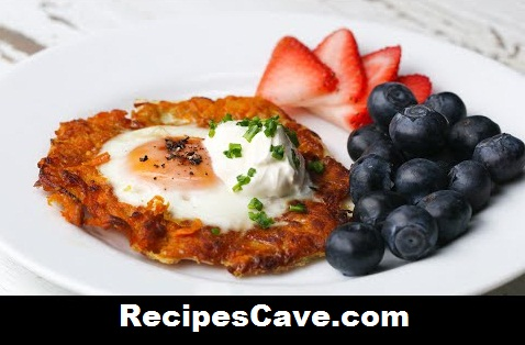 Egg In A Hole Sweet Potato Nest Recipe
