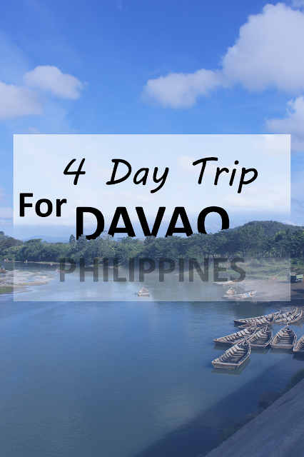 4 Day Trip for Davao Philippines