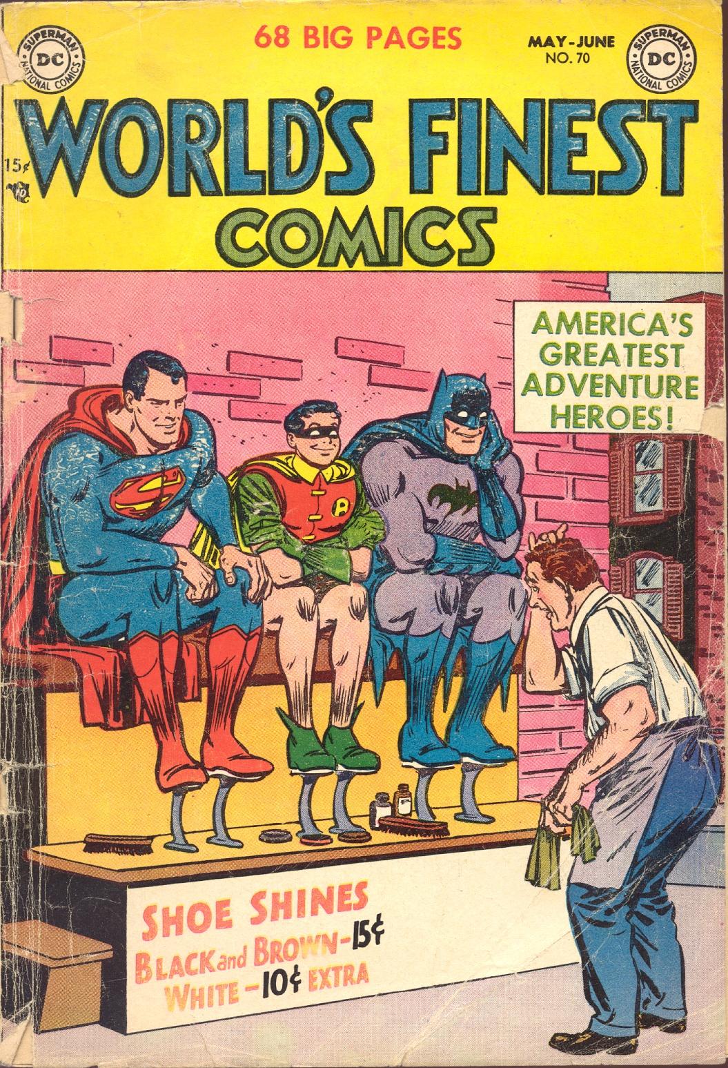 Read online World's Finest Comics comic -  Issue #70 - 1