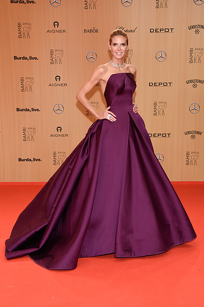 Heidi Klum at Bambi Awards-2015