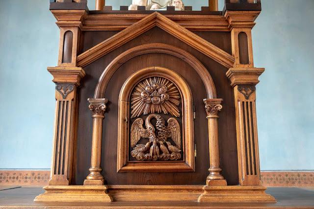 Capela Nossa Senhora da Glória - o interior - sacrário
