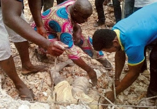 Church where 5 human bodies exhumed