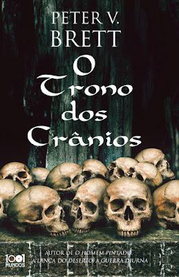 Livro do Mês (Fevereiro) - O Trono dos Crânios