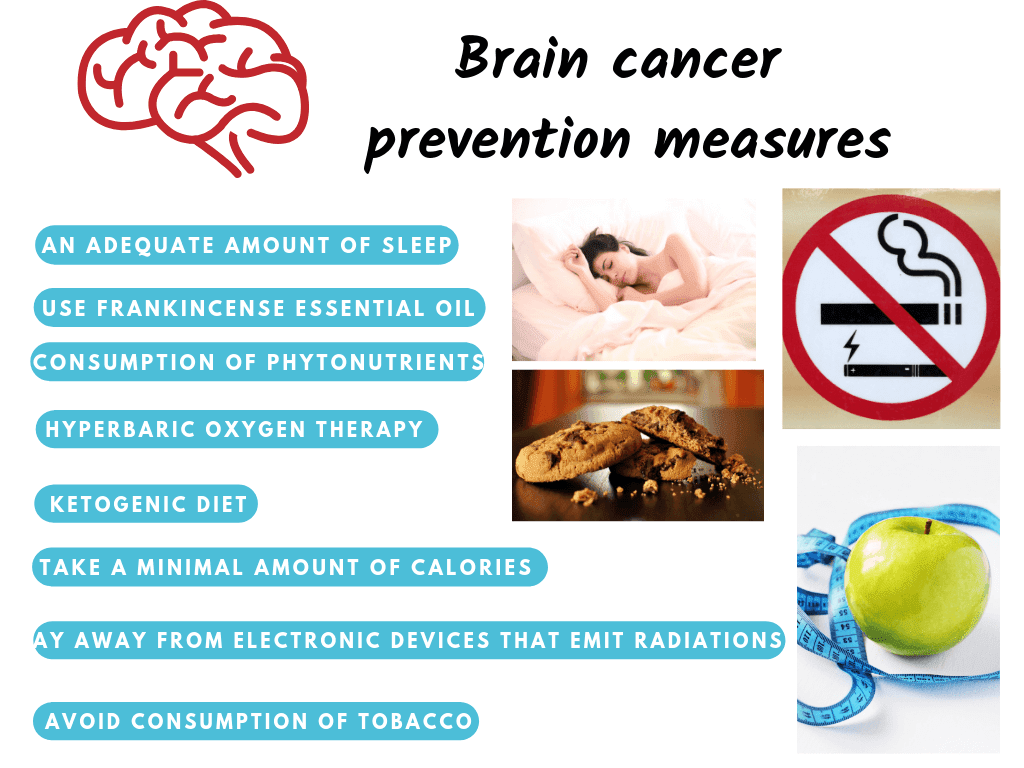 Brain cancer prevention measures