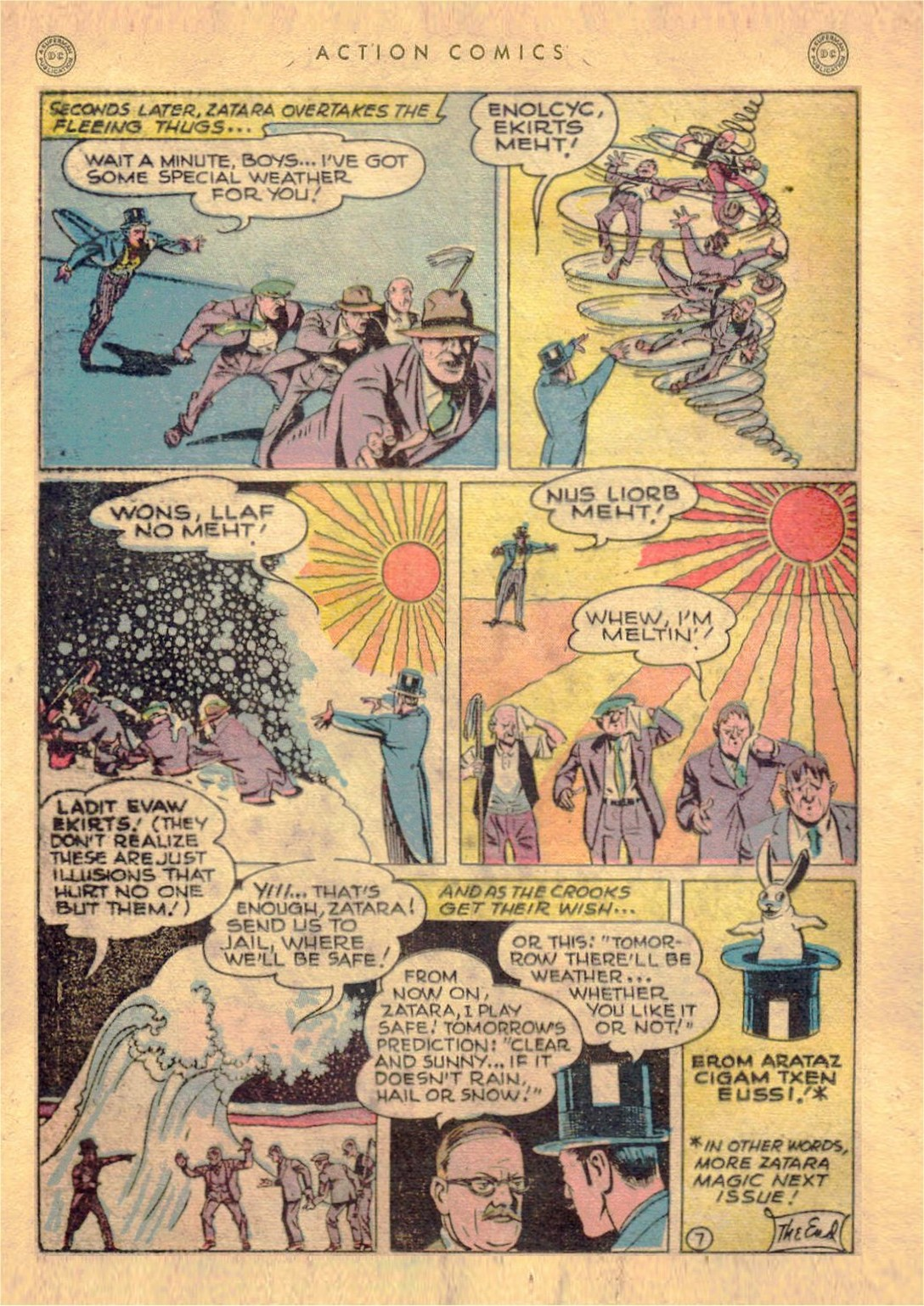 Read online Action Comics (1938) comic -  Issue #107 - 29