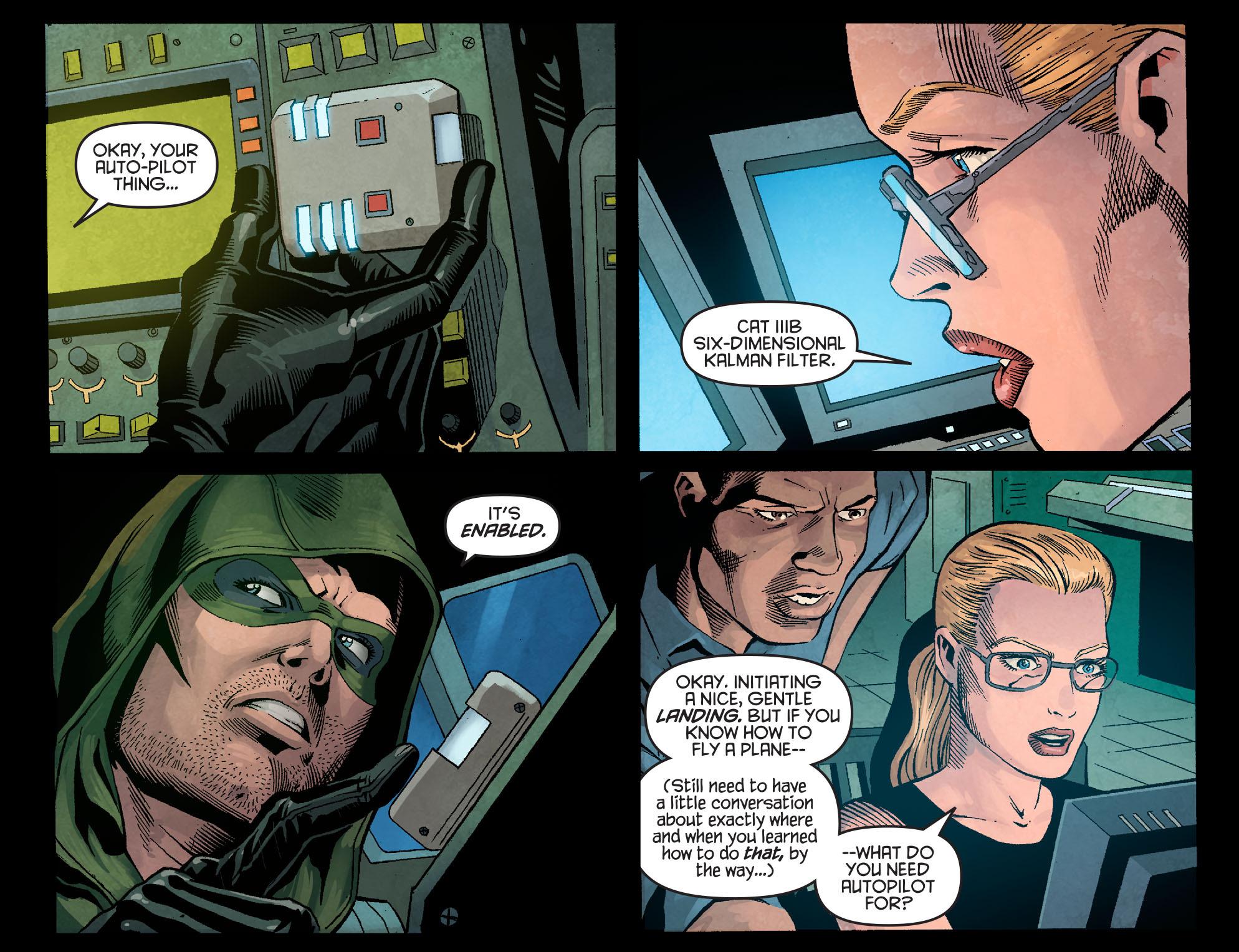 Read online Arrow: Season 2.5 [I] comic -  Issue #1 - 17