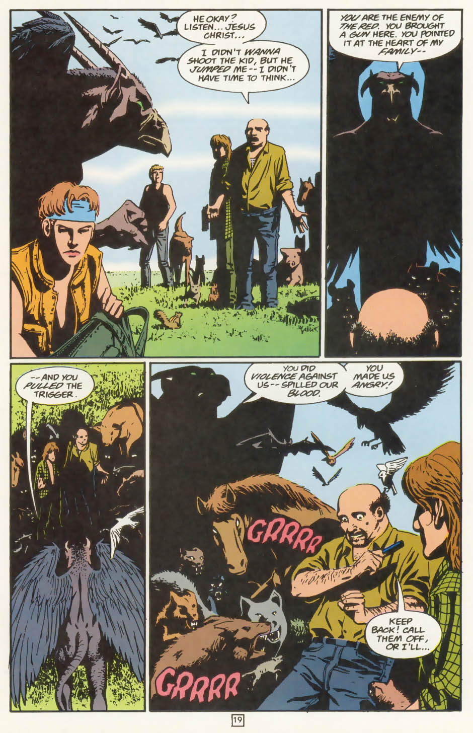Read online Animal Man (1988) comic -  Issue #77 - 20