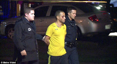 Reinaldo was taken into custody at around 4am and charged with murder in the fatal stabbing