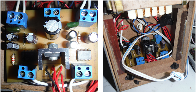 Stereo amplifier with LM386