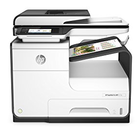 HP PageWide Pro 477dw is a multifunctional HP business printer that uses non-inkjet or laser print technology, but HP PageWide Technology with Pigmented Inks