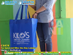 Tas Spunbond Kilos One Day Laundry