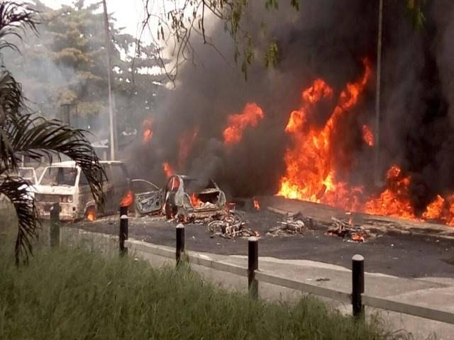 Scores consumed to death as tanker catches fire in Lagos
