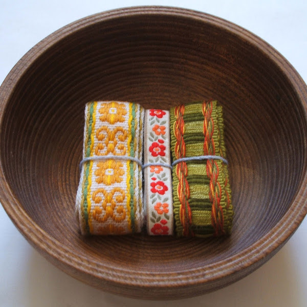 instagram competition to win selection of vintage fabric trim