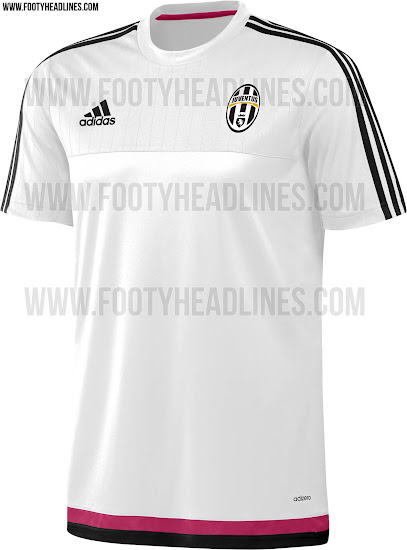 check out 2fec5 be880 Adidas Juventus 15-16 Training Shirts Revealed - Footy Headlines