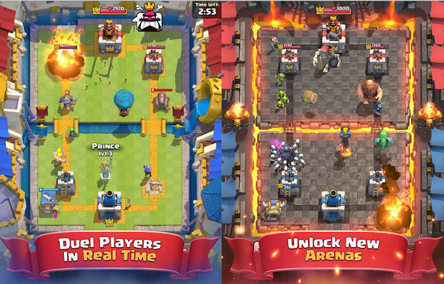 Clash Royale Apk V1.1.0 Terbaru server indonesia playstore For Android