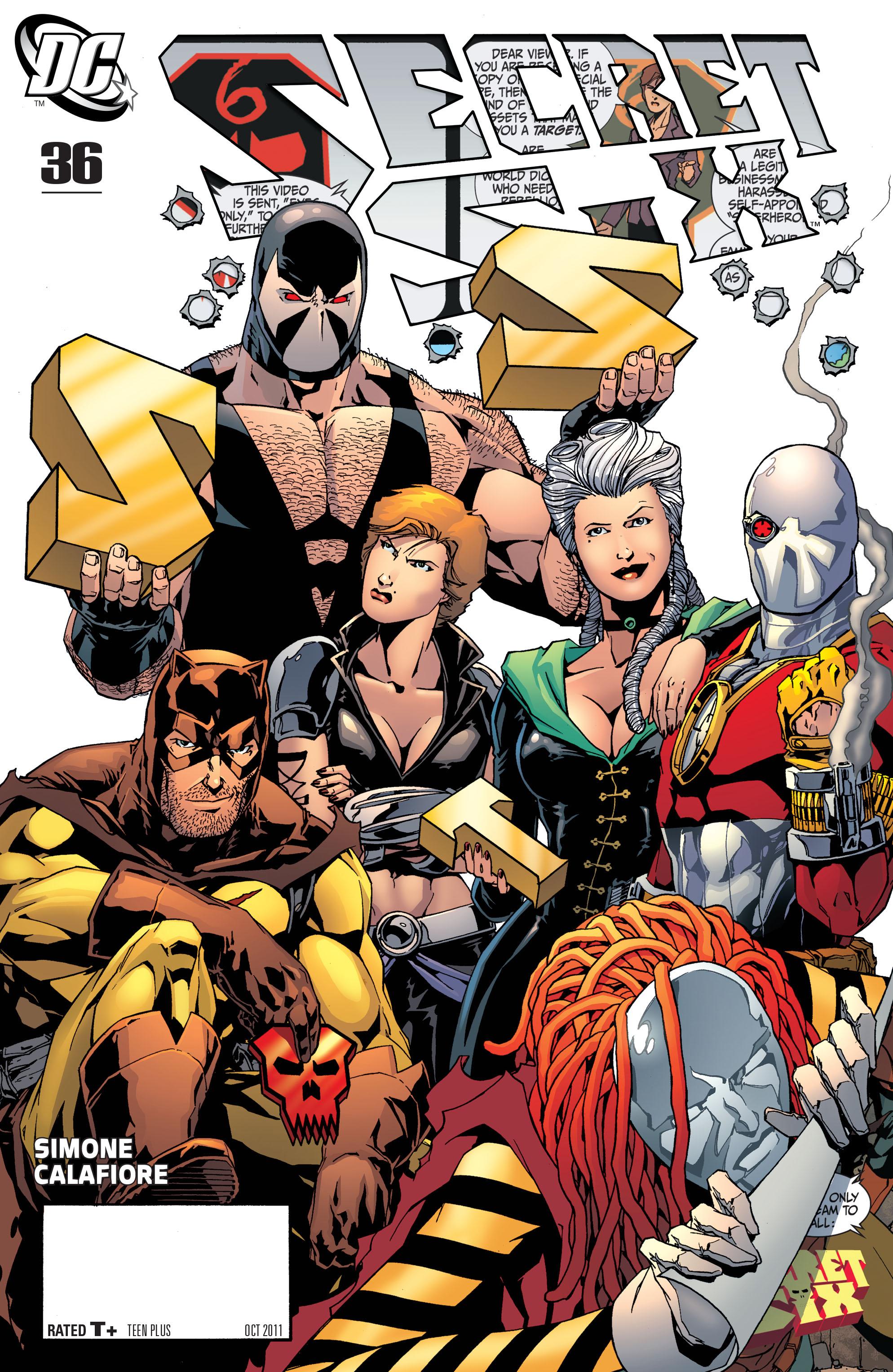 Read online Secret Six (2008) comic -  Issue #36 - 1