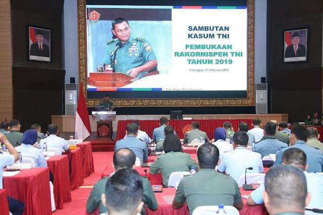 Kasum TNI: Insan Penerangan TNI Dituntut Menangkan Persepsi Legitimasi Kepercayaan Publik