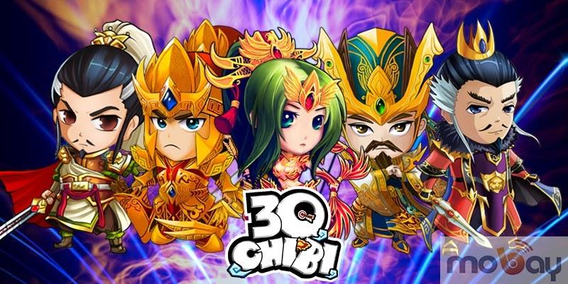 3Q Chibi - Thẻ bái chiến thần