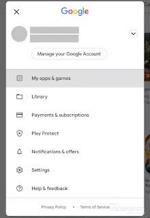 Update aplikasi dari playstore
