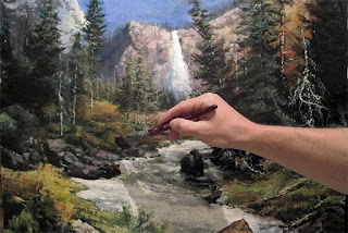 pintar paisajes bonitos