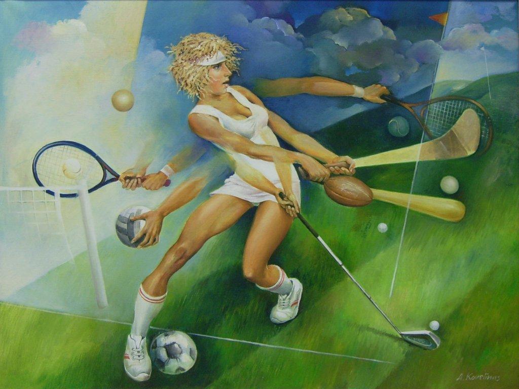 Andrius Kovelinas Sports Girl