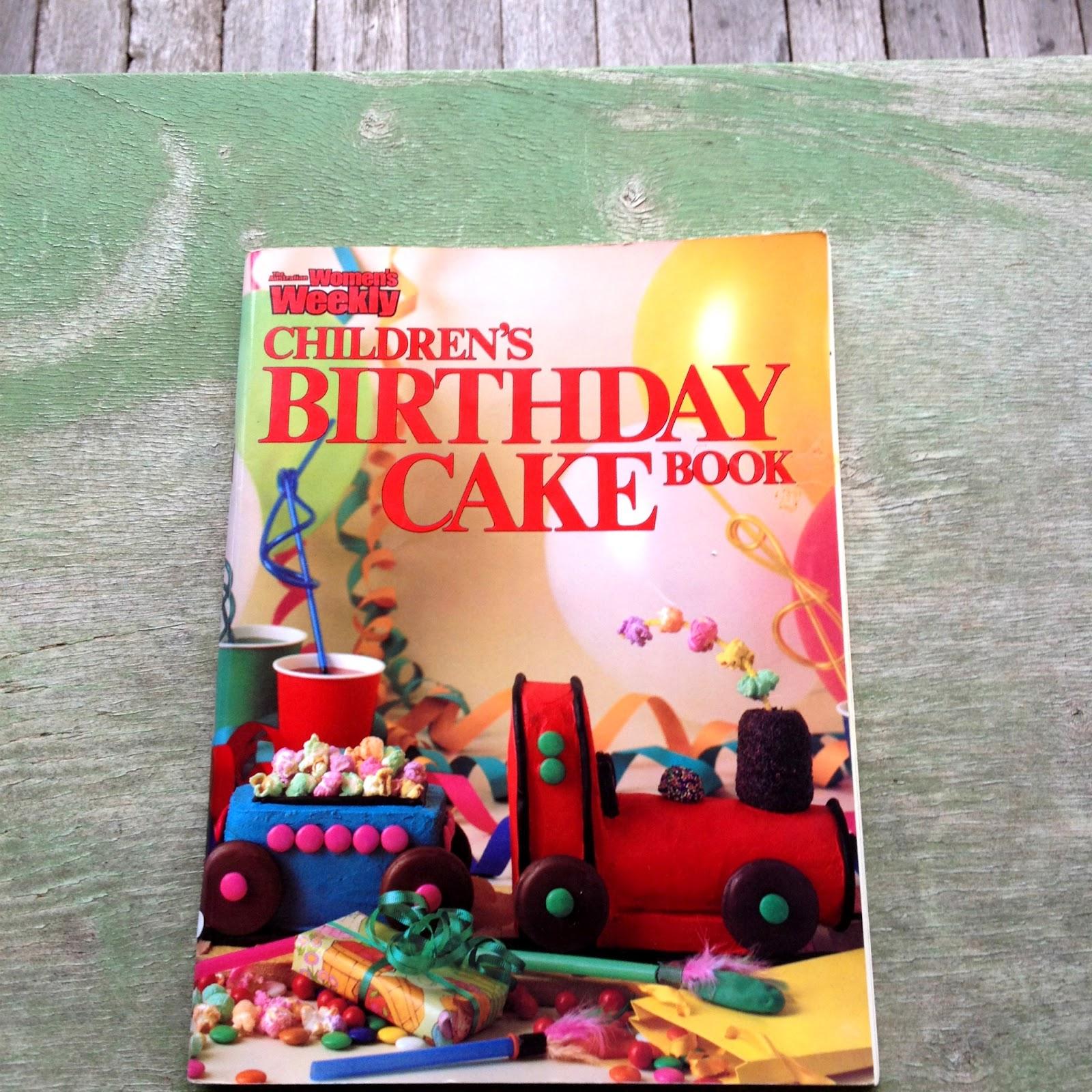 Cristarella Cakes Children S Cakes: Women's Weekly Children's Birthday Cake Book