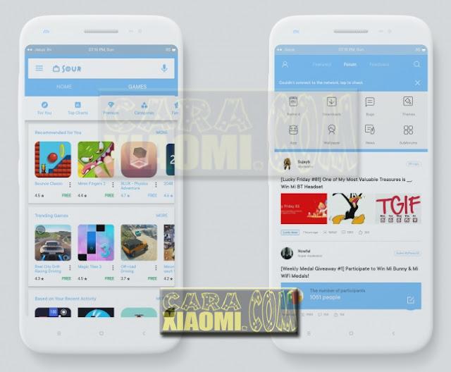 Download Xiaomi Theme Mtz Sour Blue Edition Mtz For Redmi -