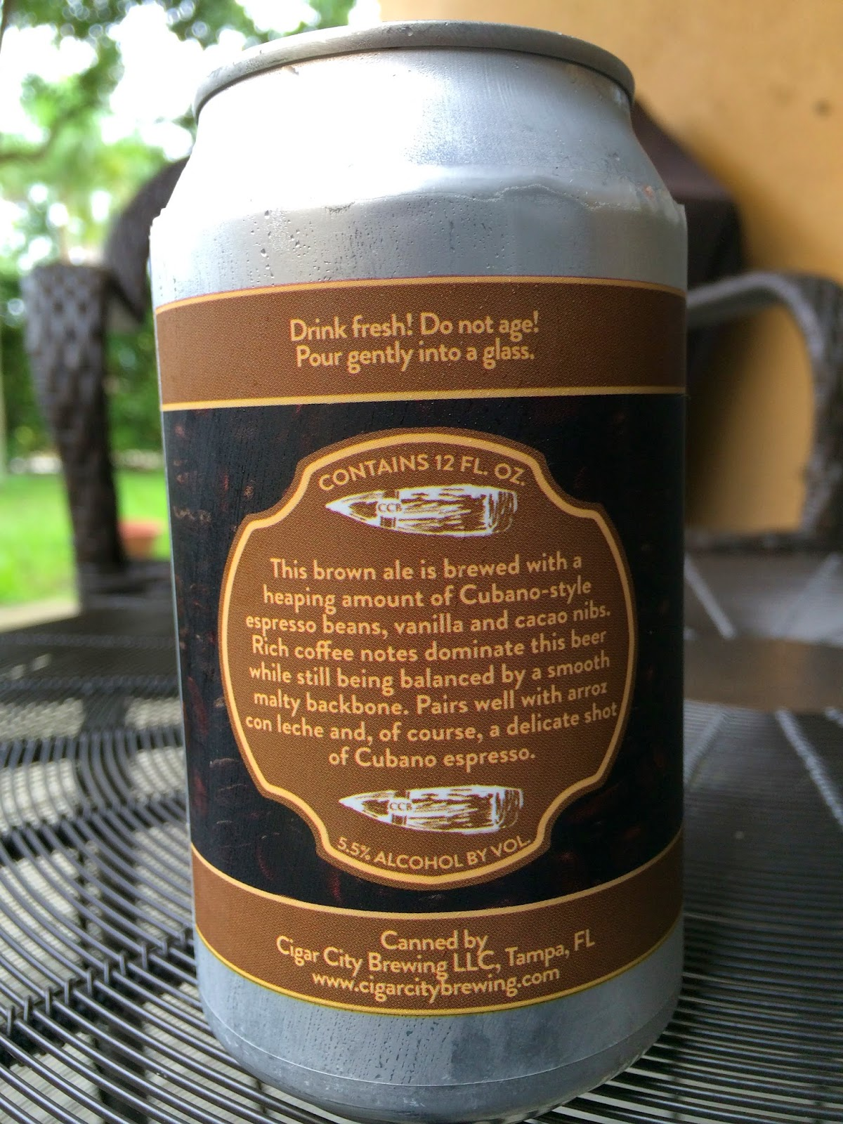 Daily Beer Review Cubano Style Espresso Brown Ale