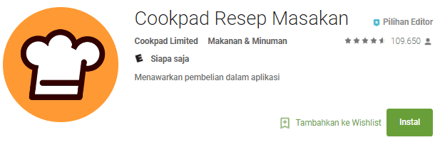 Cookpad Resep Masakan