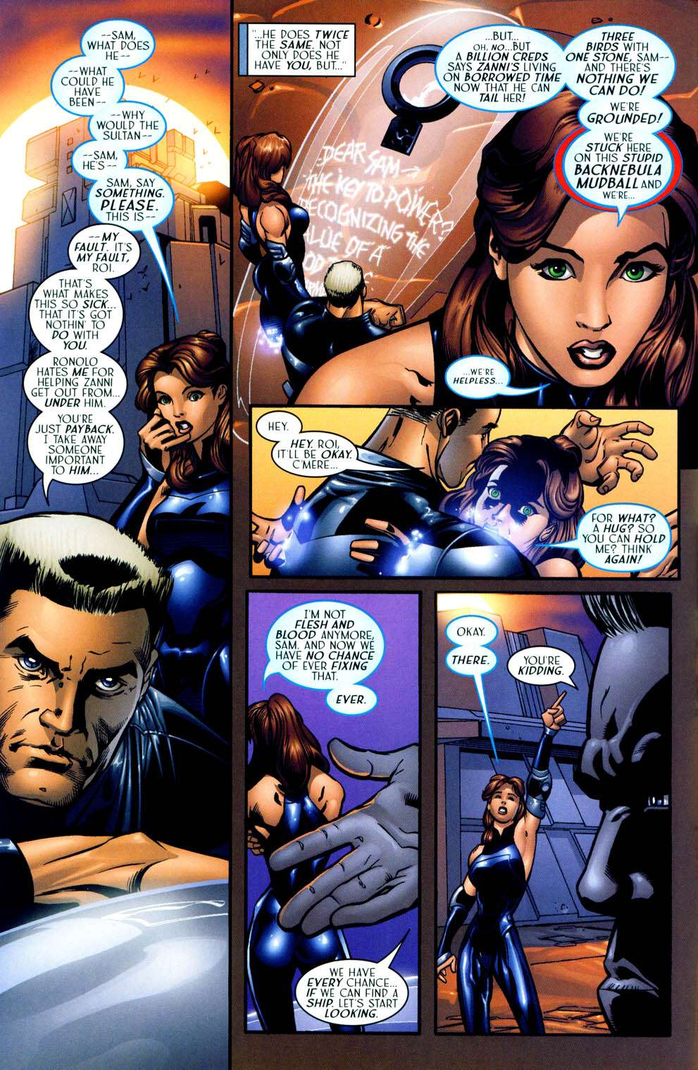 Read online Sigil (2000) comic -  Issue #13 - 4