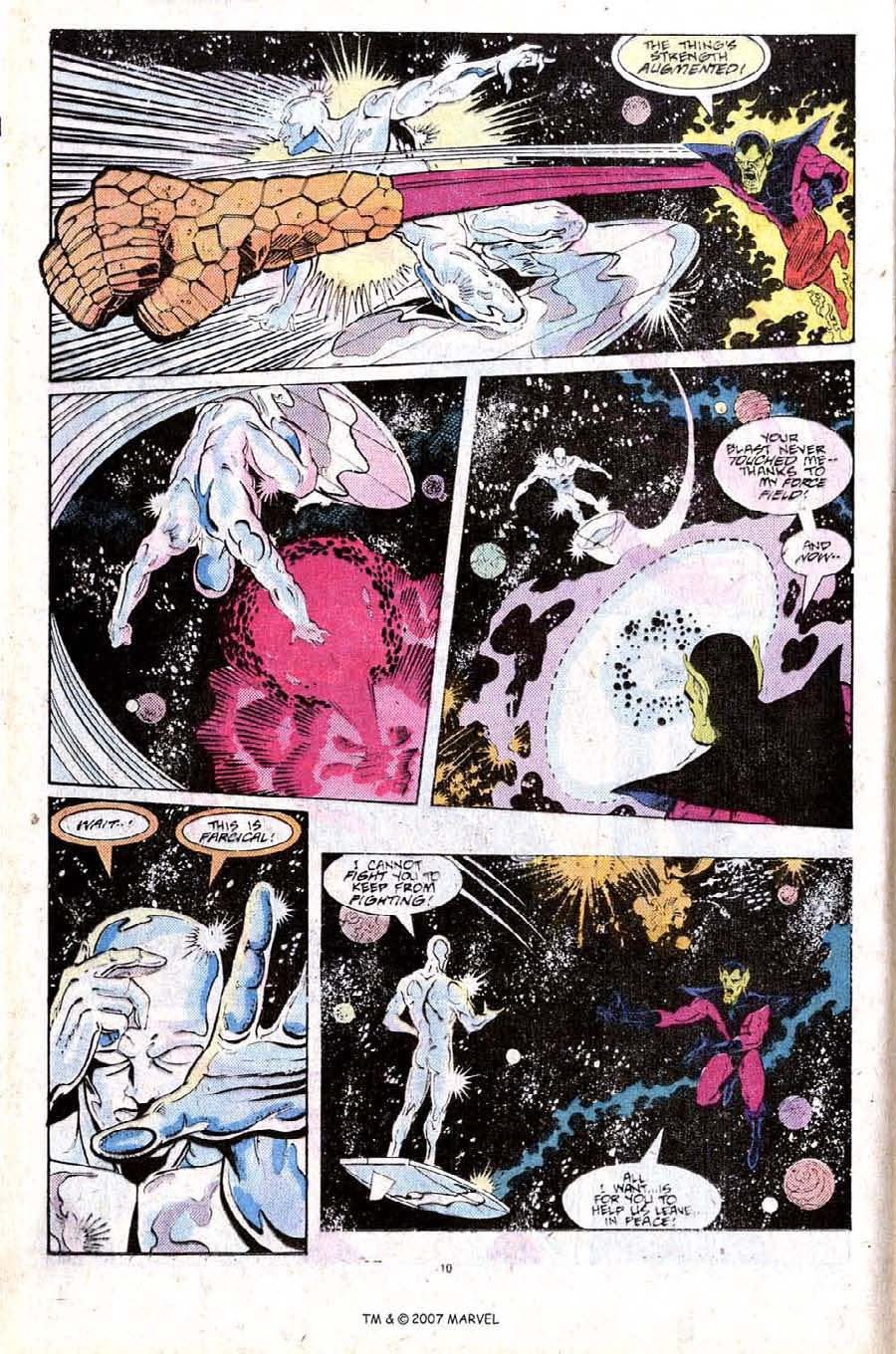 Read online Silver Surfer (1987) comic -  Issue #25 - 12