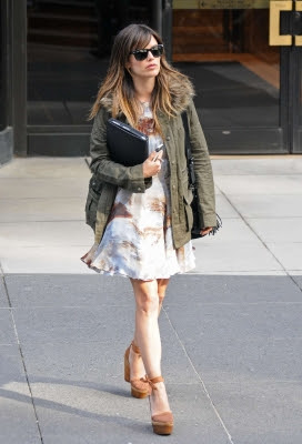 c1f72faea00 Rachel Bilson out getting coffee in New York City wearing a lovely black  Isabel Marant fringed bag, Ray Ban Wayfarers, a chocolate Elizabeth and  James ...