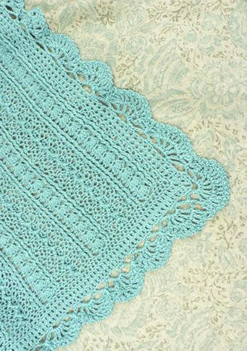 Mayflower Baby Blanket - Free Pattern