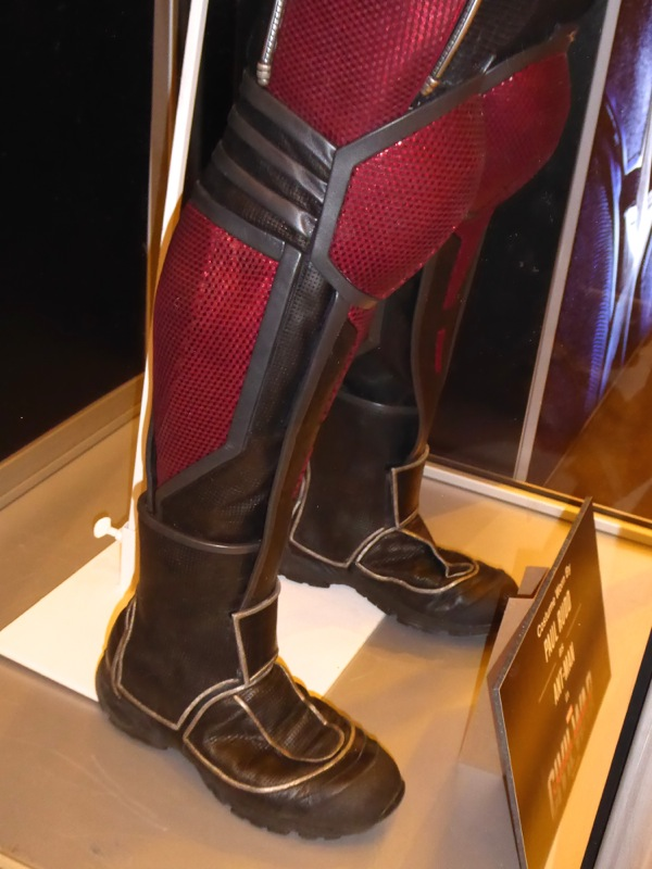 AntMan costume boots Captain America Civil War