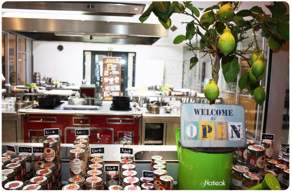 cuisine de l'atelier des chefs Paris Penthievre